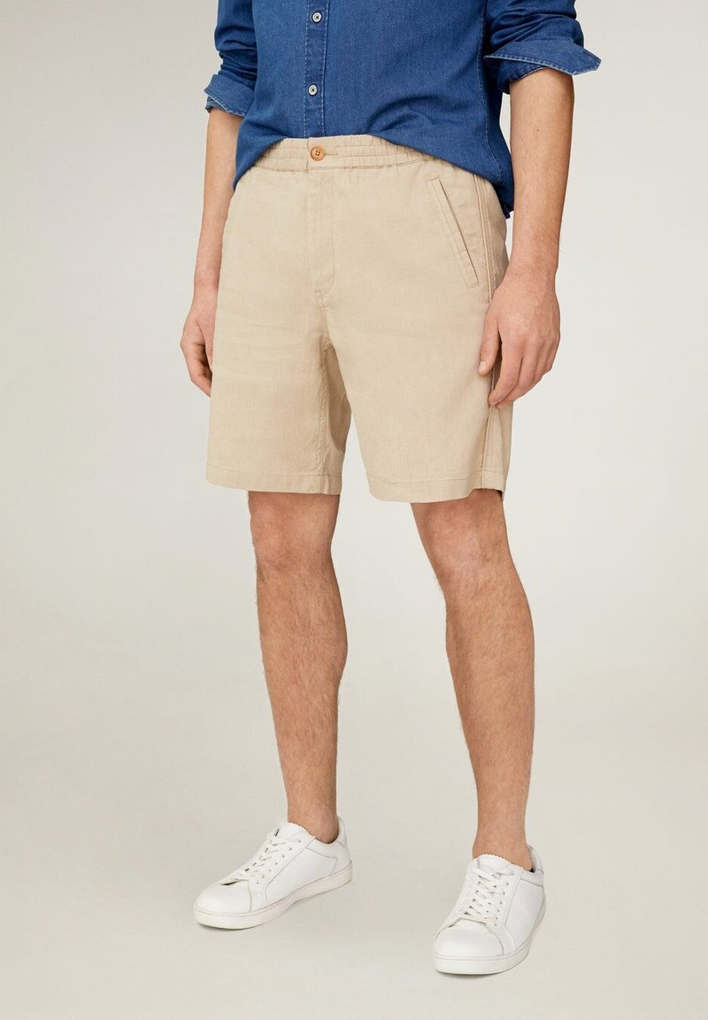 Mango - FLEK - Shorts - beige