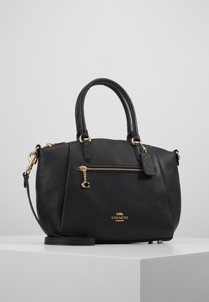POLISHED ELISE SATCHEL - Kabelka - black