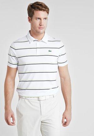 STRIPE - Sports shirt - white/navy blue-onagre