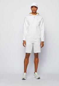 BOSS - Zip-up hoodie - white - 1