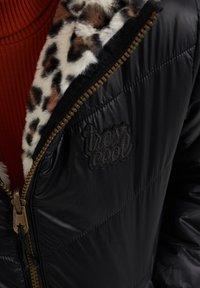 WE Fashion - Winterjas - black - 4