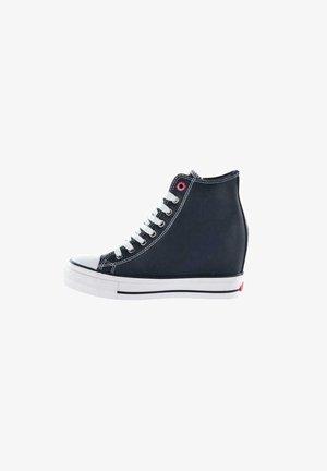 Sneakersy wysokie - czarny