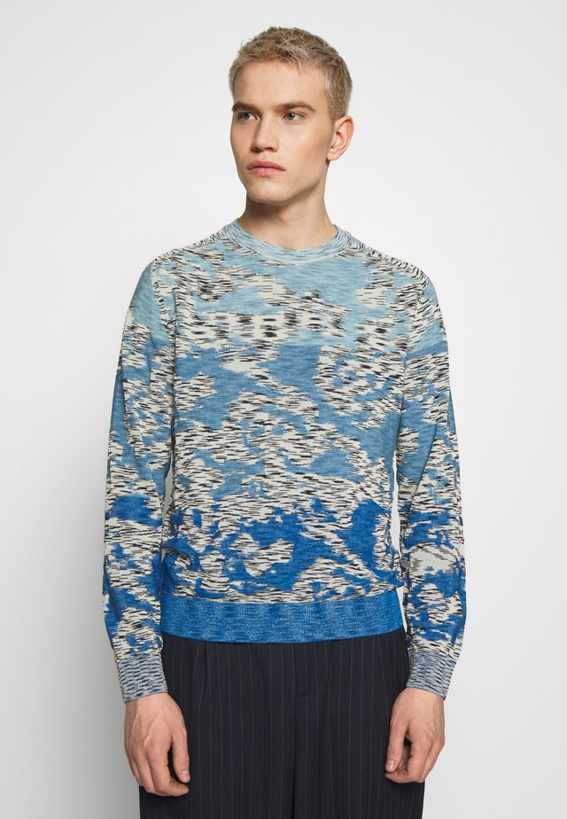 LONG SLEEVE CREW NECK - Maglione - light blue