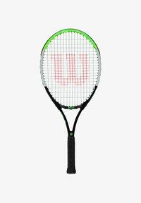 Wilson - BLADE FEEL BESAITET - Tennis racket - schwarz/grün - 0