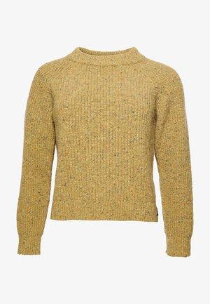 FREYA TWEED - Jumper - mustard tweed