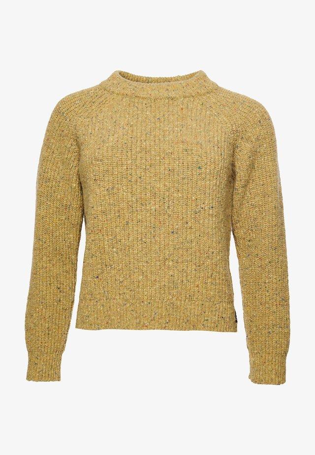 FREYA TWEED - Maglione - mustard tweed