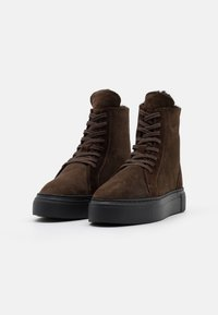 MAHONY - BERN - Lace-up ankle boots - espresso - 2