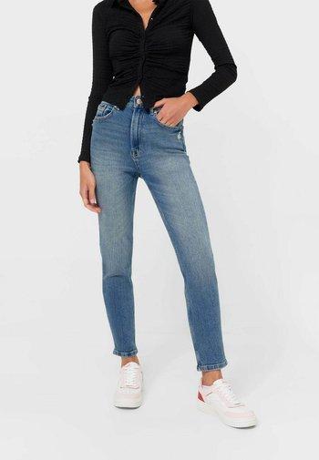 SLIM FIT  - Jeans slim fit - neon blue