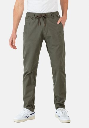 REFLEX EASY ST - Trousers - olive