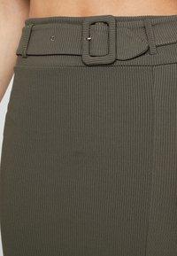 4th & Reckless - ARIANNA - Pencil skirt - khaki - 5