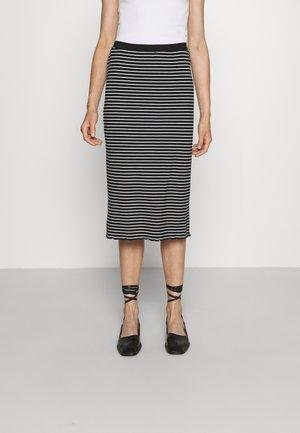 CHIODO - Pencil skirt - black