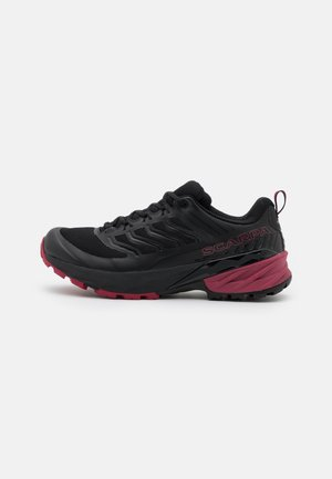 RUSH - Hiking shoes - black/cherry