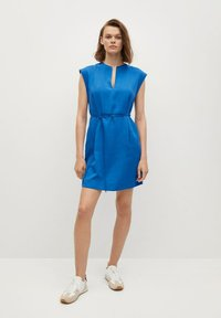 Mango - VESTIDO - Korte jurk - azul - 0