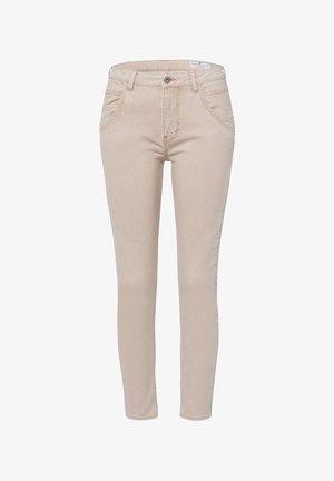 TANYA - Slim fit jeans - beige