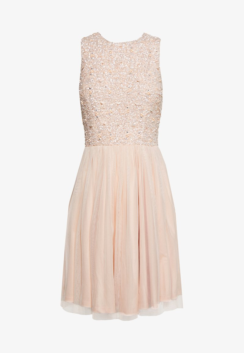 Lace & Beads - PICASSO SKATER - Cocktail dress / Party dress - nude