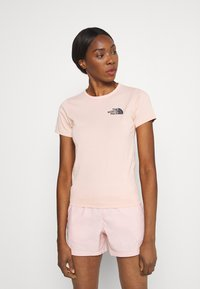 The North Face - HIMALAYAN BOTTLE SOURCE TEE - Printtipaita - evening sand pink - 0