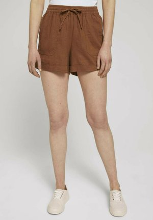 Shorts - amber brown