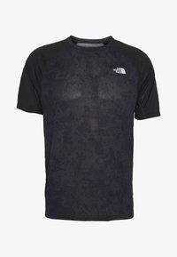 The North Face - MENS AMBITION - T-shirt med print - dark grey/black - 4