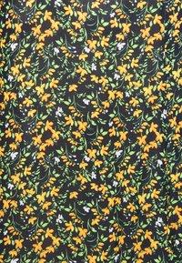 Missguided Tall - HALF BUTTON MIDI DRESS FLORAL - Korte jurk - yellow - 2