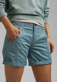 Esprit - Shorts - grey blue - 3