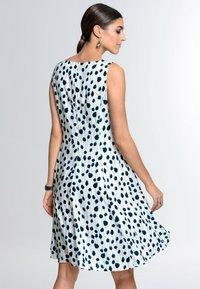 Alba Moda - Day dress - weiß marineblau - 2