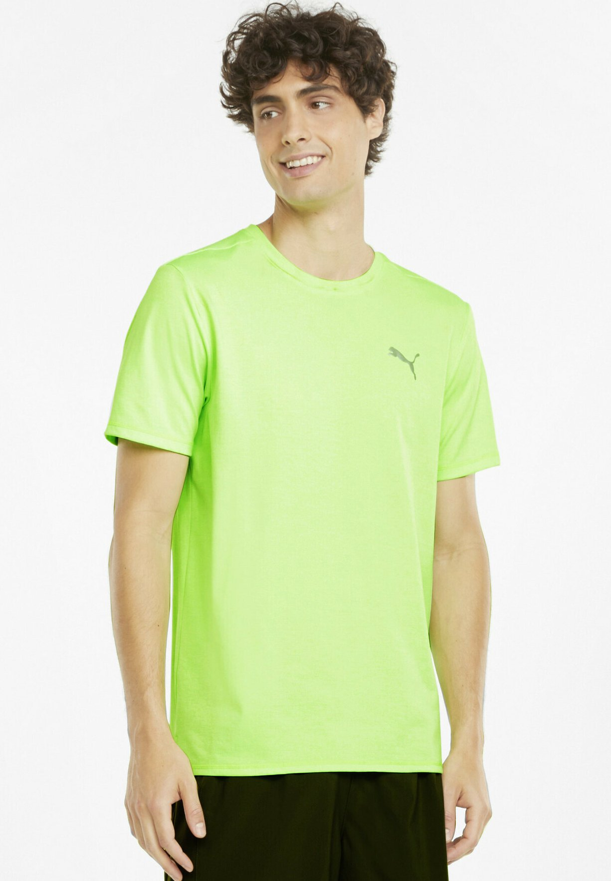 Homme RUN FAVORITE HEATHER TEE - T-shirt basique