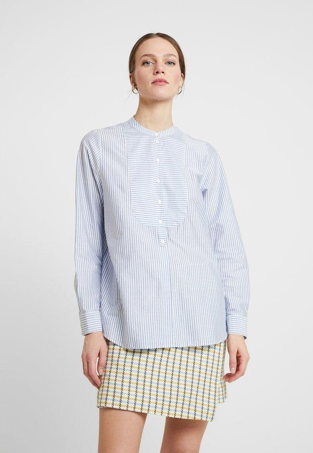 LANGARM - Skjorte - blau