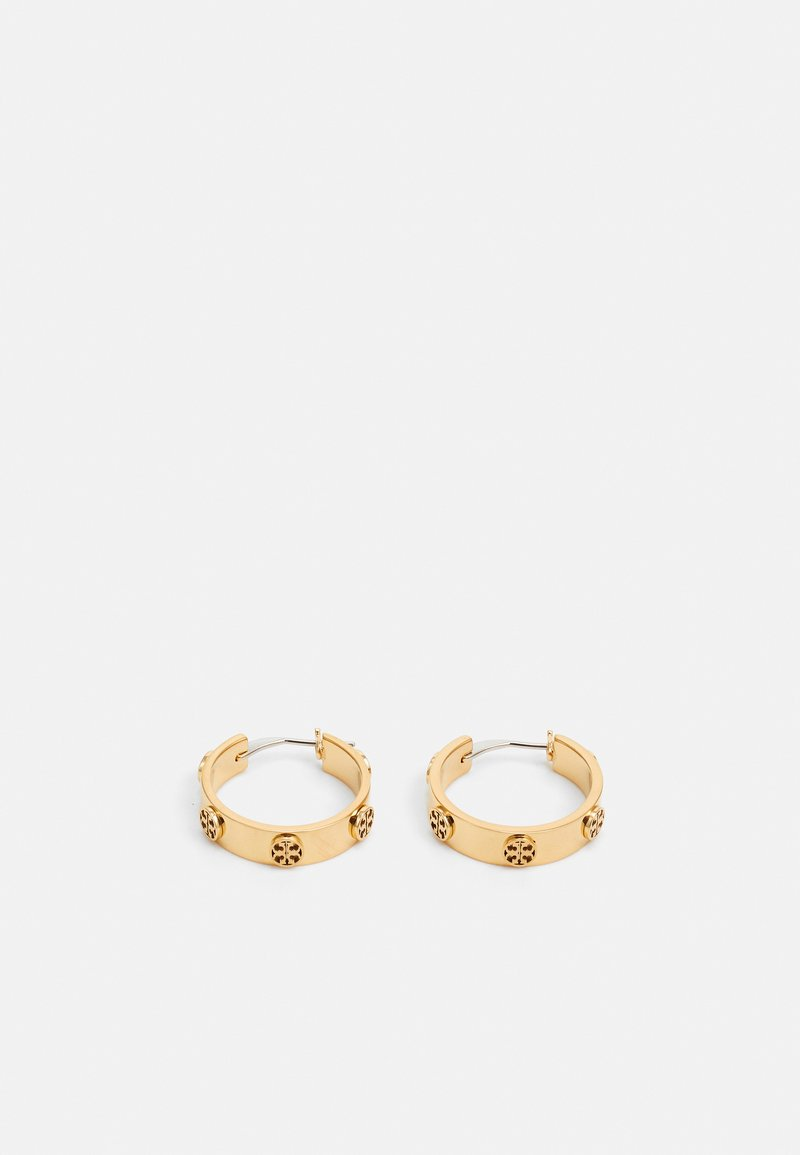 Tory Burch - MILLER STUD HUGGIE EARRING - Orecchini - gold-coloured