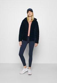 CMP - WOMAN JACKET FIX HOOD - Winter jacket - black blue - 1