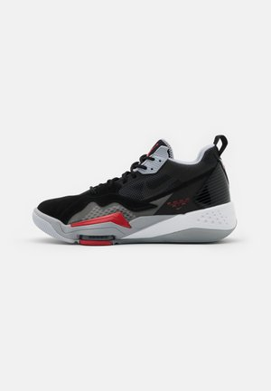 ZOOM '92 - Sneaker high - anthracite/black/wolf grey/gym red/white/sky grey