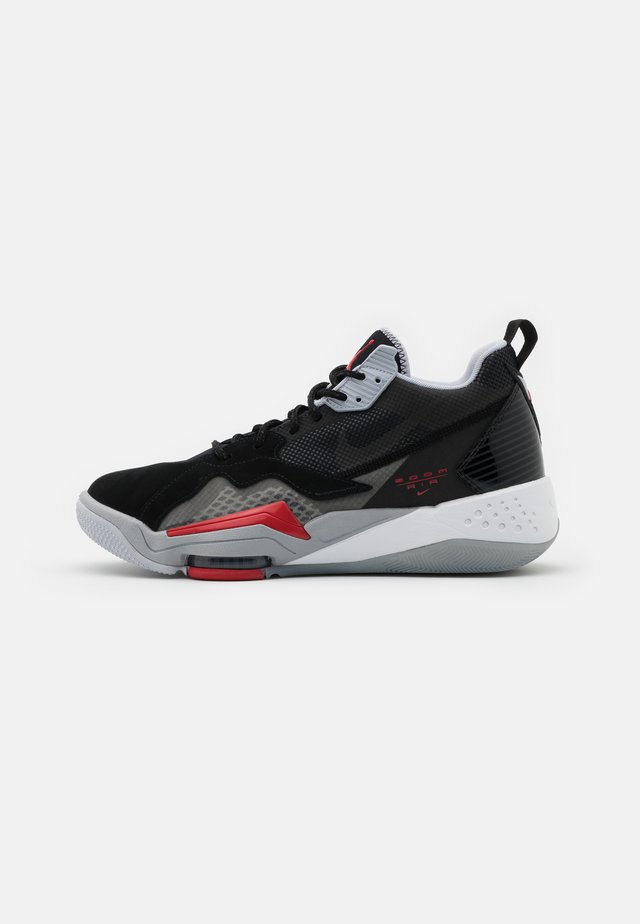 ZOOM '92 - Sneakersy wysokie - anthracite/black/wolf grey/gym red/white/sky grey