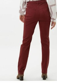 BRAX - STYLE MARY - Trousers - rosewood - 2