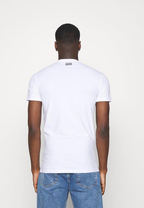Antony Morato T-shirt z nadrukiem - bianco/biały Odzież Męska ULZT
