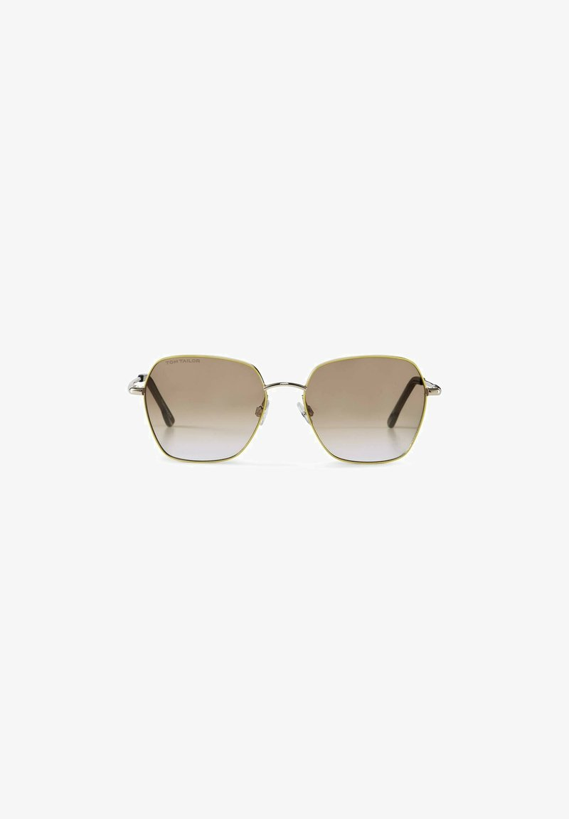 TOM TAILOR - EYEWEAR MIT FARBAKZENTEN - Sunglasses - gold-yellow
