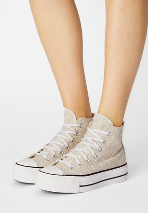 CHUCK TAYLOR ALL STAR LIFT - Zapatillas altas - farro/natural ivory/vintage white