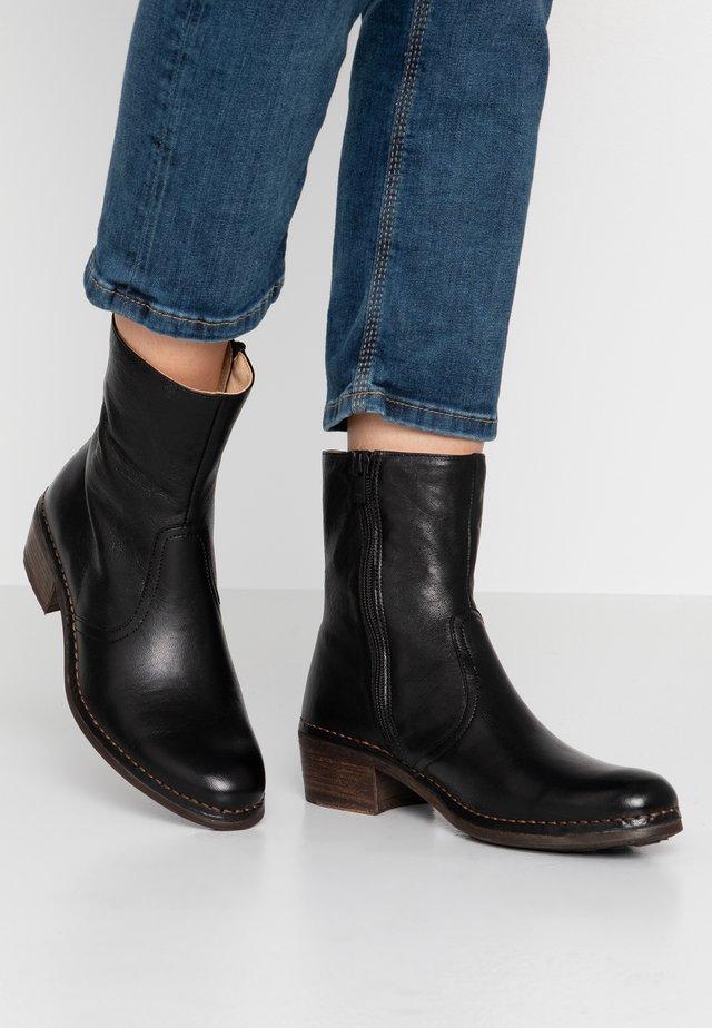 MEDOC - Korte laarzen - black