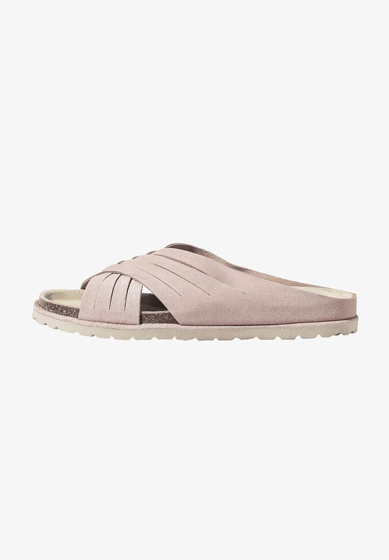 OYSHO - CROSSOVER - Mules - pink