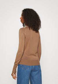 ONLY - ONLVENICE ROLLNECK - Svetr - toasted coconut - 2