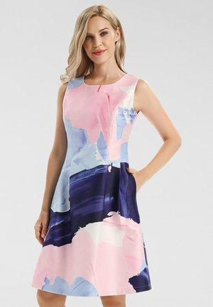 Cocktail dress / Party dress - nachtblau-multicolor