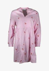 Zwillingsherz - Day dress - rosa/weiß - 0