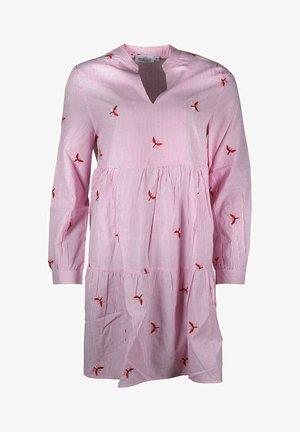 Day dress - rosa/weiß