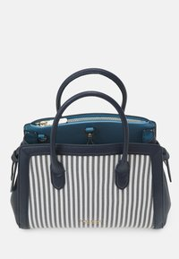 kate spade new york - KNOT STRIPE MEDIUM SATCHEL - Handbag - blazer blue - 2