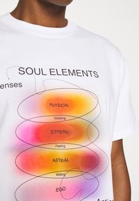 Weekday - STEFY - Print T-shirt - off white - 4