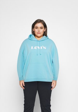GRAPHIC HOODIE - Sweatshirt - new blue topaz