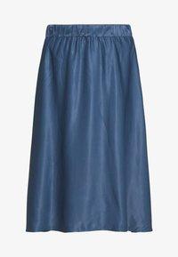 Esprit Collection - SATEEN MAX SKIRT - A-Linien-Rock - petrol blue 2 - 4
