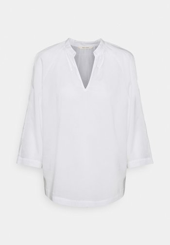 BLOUSE THREE QUATER SLEEVE STAND - Blouse - white