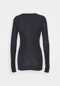 CLOSED - WOMEN´S - Long sleeved top - dark night - 1