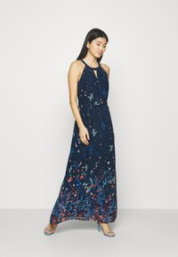Esprit Collection - PRINT FLOWER - Maxi dress - navy - 1
