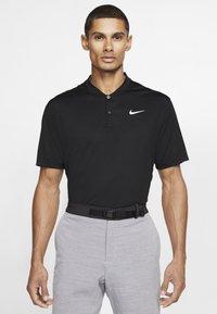 Nike Golf - DRY VICTORY - Funkční triko - black/white - 0
