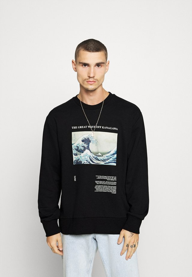 WAVE - Sweatshirt - black